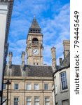 clock tower  wakefield town... | Shutterstock . vector #794445649