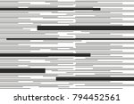 black monochrome different size ... | Shutterstock .eps vector #794452561