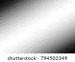halftone background. vintage... | Shutterstock .eps vector #794502349