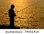 Fisher In Golden Sunshine With...
