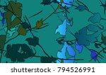 nifty gental botanical... | Shutterstock .eps vector #794526991