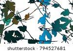nifty gental botanical... | Shutterstock .eps vector #794527681