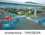 smart automotive driverless car ... | Shutterstock . vector #794528209