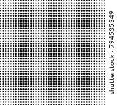 halftone black and white | Shutterstock .eps vector #794535349