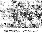 grunge black and white pattern. ...   Shutterstock . vector #794537767