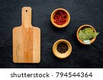 mock up for menu or recipe.... | Shutterstock . vector #794544364