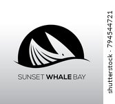 sunset whale bay logo