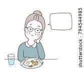 vector illustration character... | Shutterstock .eps vector #794544985