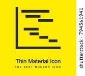 chart gantt bright yellow... | Shutterstock .eps vector #794561941