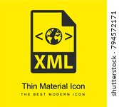 xml file format variant bright...   Shutterstock .eps vector #794572171