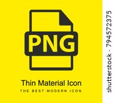png file format symbol bright...