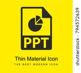 ppt file format bright yellow...