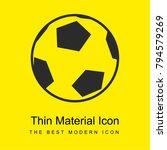 football ball bright yellow...