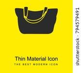female black handbag bright... | Shutterstock .eps vector #794579491