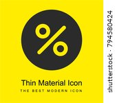 percentage bright yellow...