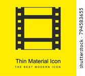 film strip bright yellow...