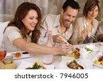 group of attractive people... | Shutterstock . vector #7946005