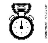 vintage sport chronometer | Shutterstock .eps vector #794619439