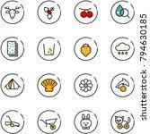 line vector icon set  ...   Shutterstock .eps vector #794630185