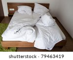 Hotel Room In The Morning - stock photo