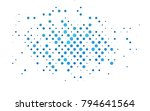 light blue vector illustration... | Shutterstock .eps vector #794641564