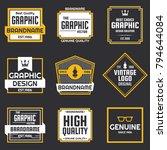 vintage retro vector logo for...   Shutterstock .eps vector #794644084