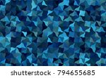 light blue vector blurry arched ... | Shutterstock .eps vector #794655685