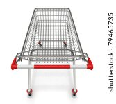 empty shopping cart   isolated... | Shutterstock . vector #79465735