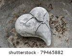 A Stone Heart Broken By Frost ...