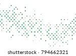 light black vector red pattern... | Shutterstock .eps vector #794662321