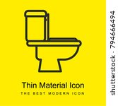 toilet bright yellow material... | Shutterstock .eps vector #794666494