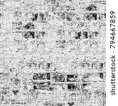 texture grunge monochrome.... | Shutterstock . vector #794667859