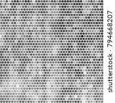 abstract grunge grid polka dot...   Shutterstock .eps vector #794668207