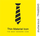 tie bright yellow material...