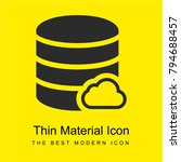 database bright yellow material ...