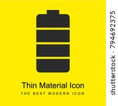 battery bright yellow material...