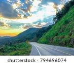 Beautiful Road On The Mountain...