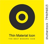 compact disc bright yellow...