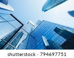moscow skyscrapers. business... | Shutterstock . vector #794697751