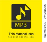 mp3 bright yellow material...