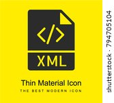 xml bright yellow material... | Shutterstock .eps vector #794705104
