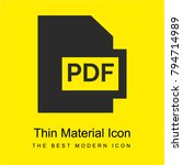 pdf bright yellow material...