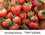 fresh strawberry. strawberries | Shutterstock . vector #794718544