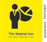 presentation bright yellow...