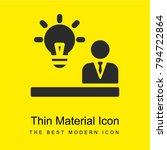 idea bright yellow material...