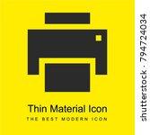 print bright yellow material...