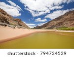 panoramic view of rests of... | Shutterstock . vector #794724529