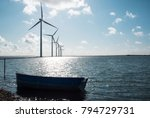 wind energy and nature | Shutterstock . vector #794729731