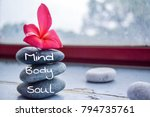 Spa Concept Of Zen Stones With...