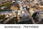 aerial photo of iconic chora of ...   Shutterstock . vector #794745805